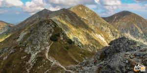Trochę wspinaczki granią naWyżnią Magurę (2095 m)