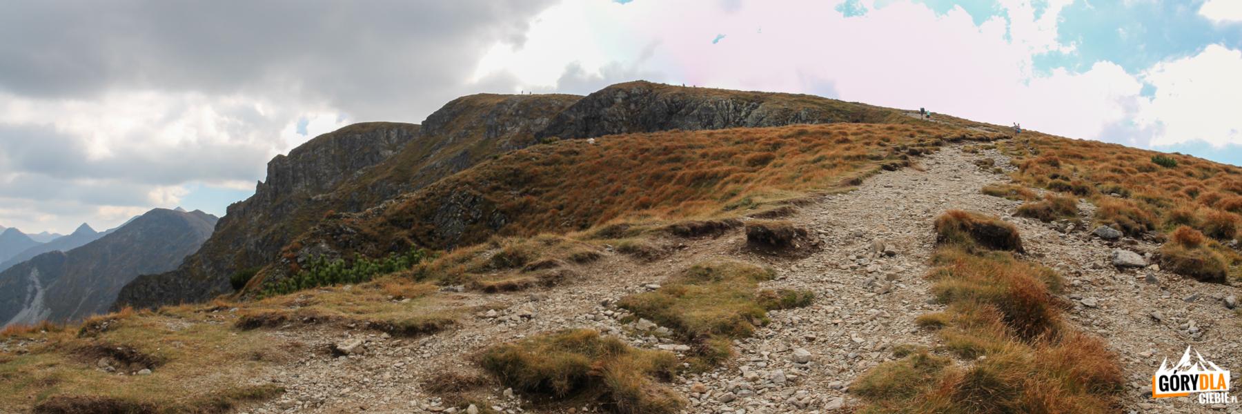 Podejscie naSalatyn (2048 m) zPrzełęczy Salatyńskiej (1870 m)