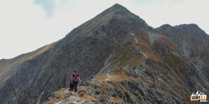 Wejscie granią na szczyt Pahoła (2167 m)