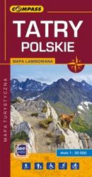 Tatry Polskie mapa 2016