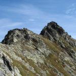 Mały Kozi Wierch (2228 m) widziany z Zawratu (2159 m)