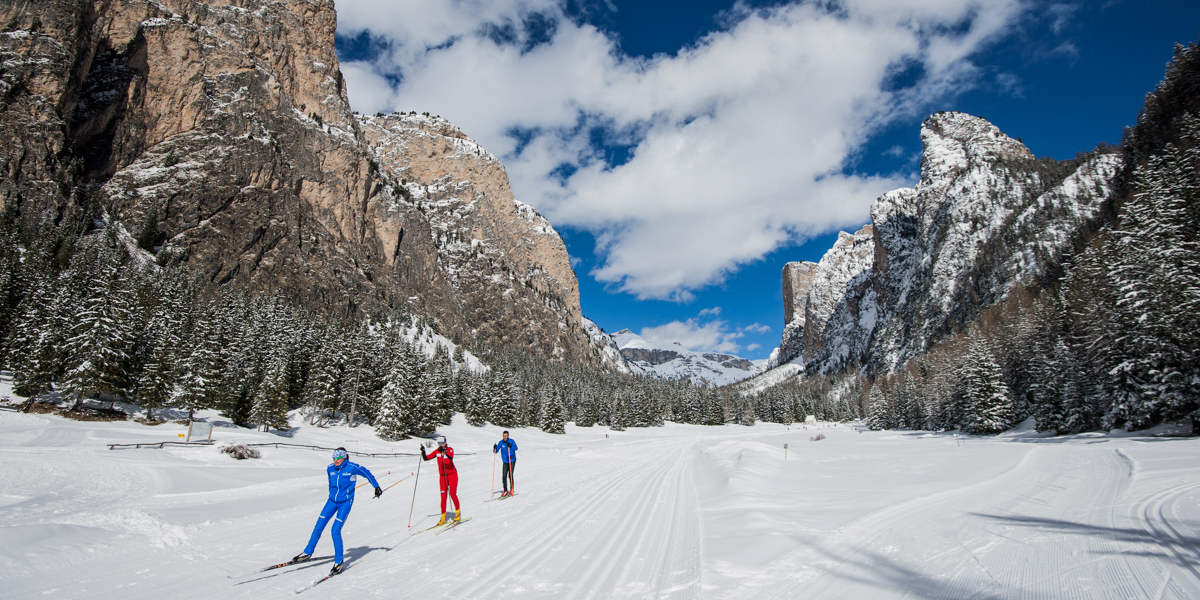 Val Gardena - trasy narciarstwa biegowego