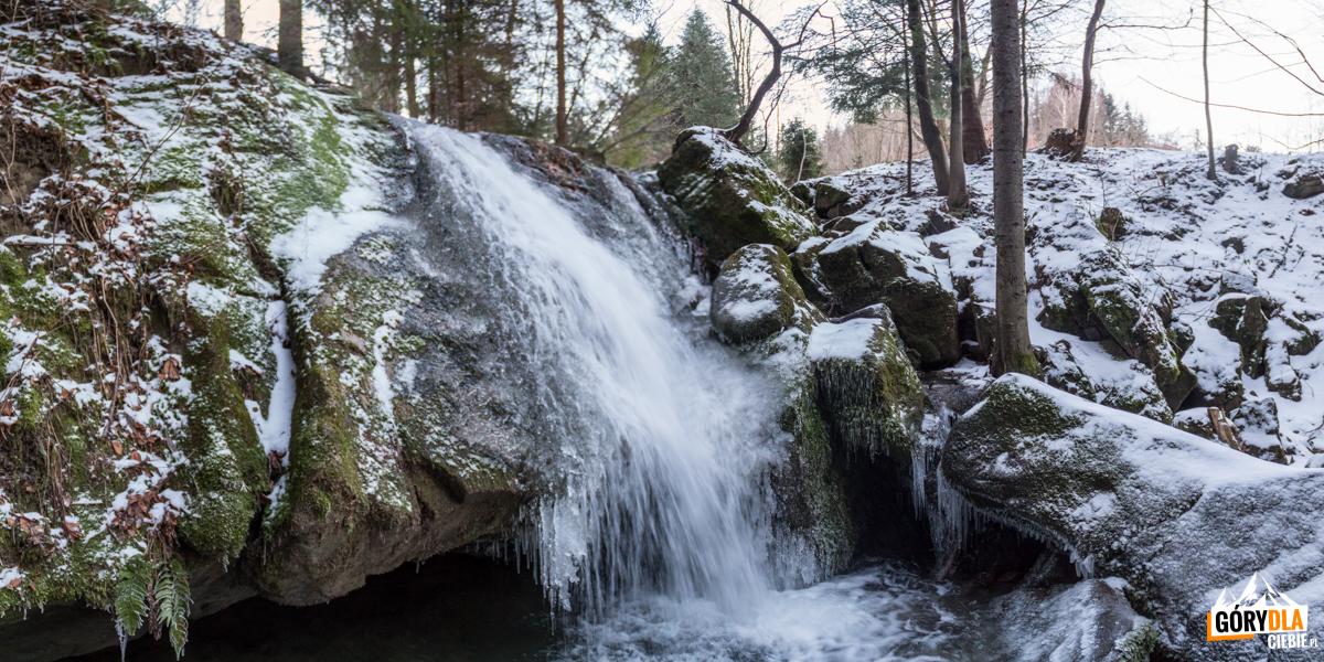 Stryszawa Roztoki - wodospad