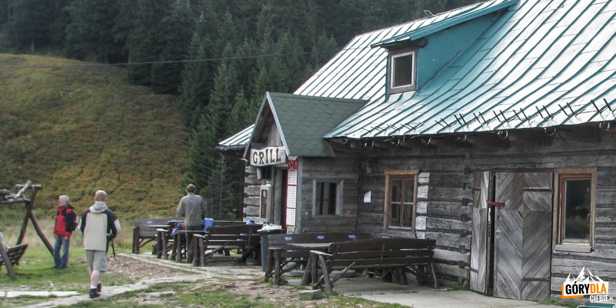 Budynek starego schroniska naHali Miziowej