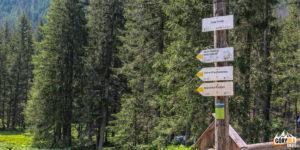 Hala Ornak - żólty szlak na Iwaniacką Przełęcz