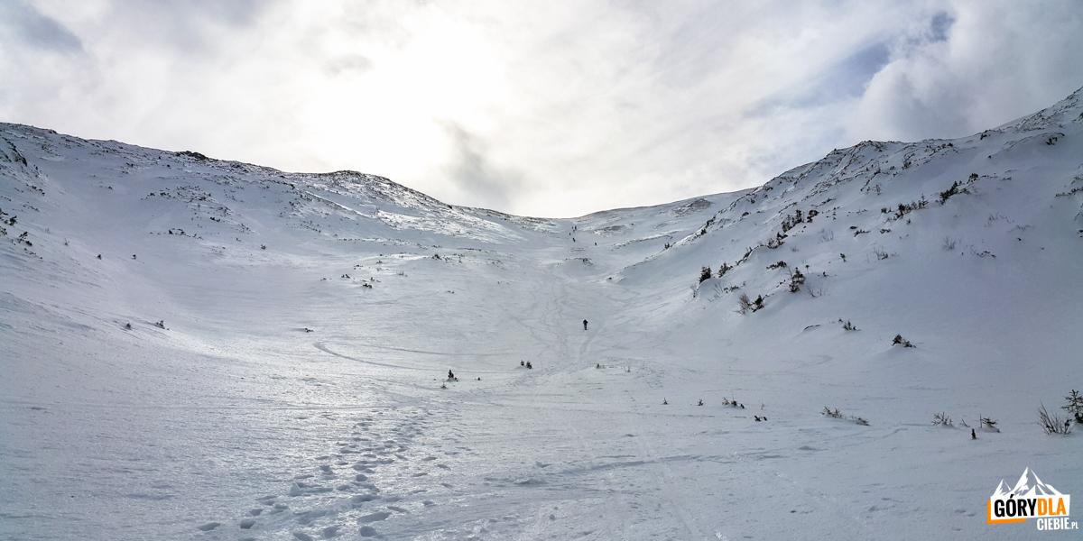 Ostre podejście naPrzełęcz podKopą Kondracką