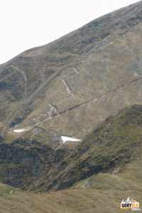 Wyraźne ścieżki na szczyt Błyszcza (2158 m) i Bystrej (2248 m)