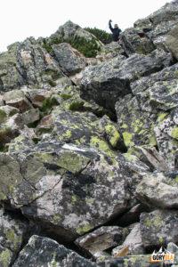 Przejście przez szczyt Ornaku (1854 m)