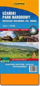 Użański Park Narodowy mapa 2012 kup