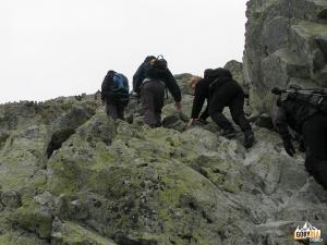 Pod samym szczytem Krywania