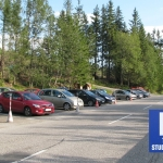 Trzy Źródła (Tri studničky) -parking