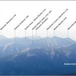 Panorama Tatr spod szczytu Krywania (zachód)