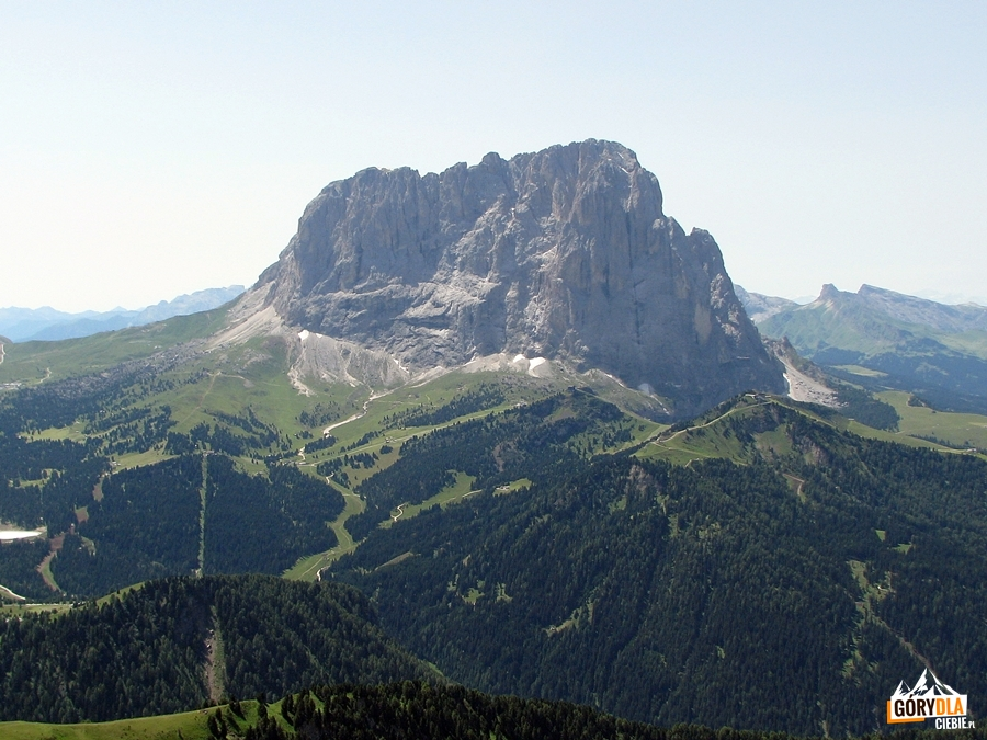 Sassolungo - ze szczytu Cir V