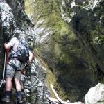 Ferrata Mauthner Klamm – pierwszy próg
