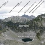Panorama z Bystrej Ławki 2300 m n.p.m.