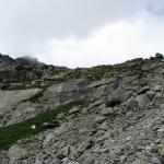 Próg Capiego Stawu w Dolinie Młynickiej
