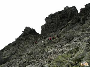 Podejście na Bystrą Ławkę (Bystrá lavká) 2300 m n.p.m.