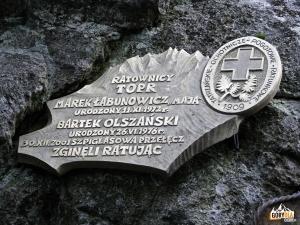 """Cmentarz Symboliczny pod Osterwą - Marek Łabunowicz (""""Maja"""") i Bartłomiej Olszański"""