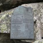 Tablice na Symbolicznym Cmentarzu pod Osterwą