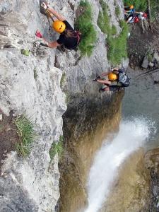 Millnatzenklamm Klettersteig (ferrata wwąwozie Millnatzen)