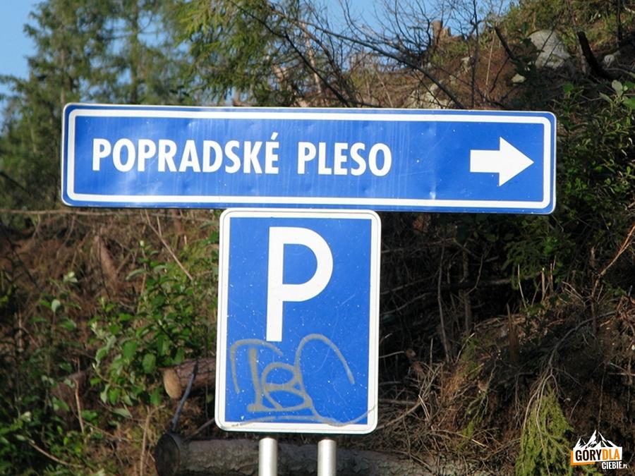 Dojazd do Popradzkiego Jeziora (Popradské pleso)