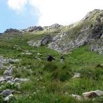 Podejście na Koprową Przełęcz Wyżnią (Vyšné Kôprovské sedlo)