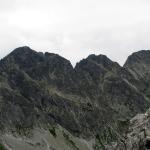 Mięguszowieckie Szczyty z Koprowego Wierchu