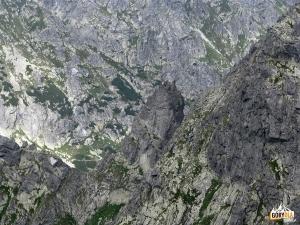 Zadni Mnich z Koprowego Wierchu