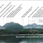 Panorama Tatr ze Szczyrbskiego Jeziora