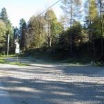 Łomnica Zdrój Leśniczówka – przystanek i parking