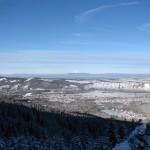 Widok z grani Kopieńca na Zakopane