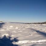 Polana Kopieniec zimą