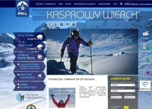 Strona PKL Kasprowy Wierch