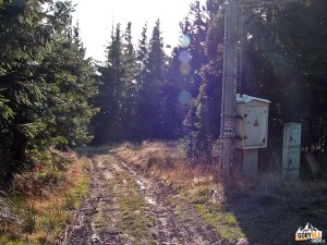 Zejście na Halę Krupową