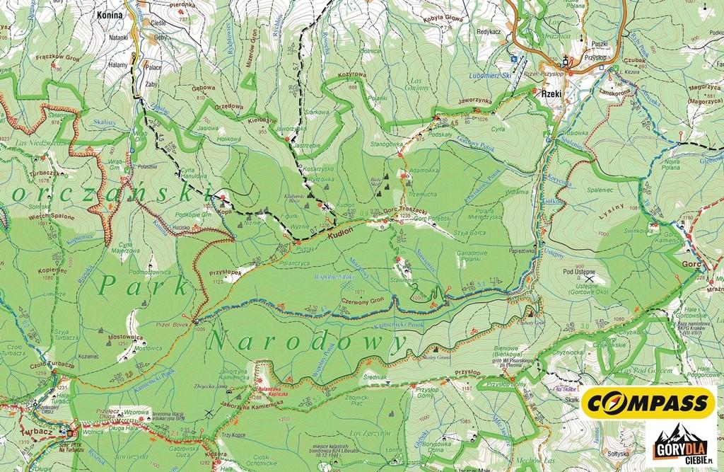 Kudłoń, mapa