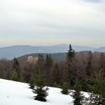 Panorama Mogielicy z polany Adamówka