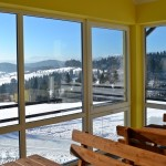 Budynek obsługi tras narciarskich pod Mogielicą