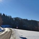 Droga na Przełęcz Słopnicką