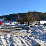 Parking na Przełęczy Rydzy-Śmigłego - Chyszówki