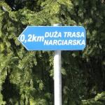 Parking na Wyrębiskach - duża trasa wokół Mogielicy