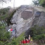 """""""Diabelski Kamień"""" nad Halą Turbacz"""