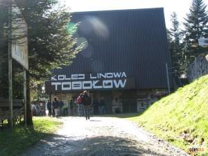 Dolna stacja kolejki na Tobołów