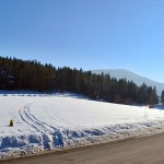 Poczatek szlaku na Mogielicę z Przełęczy Rydza - Śmigłego
