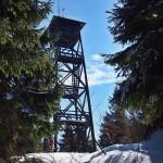 Wieża widokowa naMogielicy 1171 m n.p.m.
