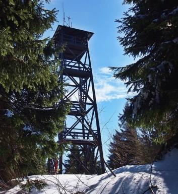 Wieża widokowa na Mogielicy 1171 m n.p.m.