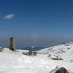 Babia Góra obelisk 1.