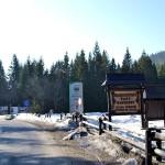 Przełęcz Krowiarki 1012 m