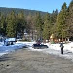 Parking na Przełęczy Krowiarki 1012 m