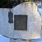 Obelisk na Przełęczy Krowiarki