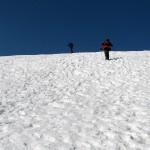 Na grani Babiej Góry 1725 m przed Gówniakiem 1617 m